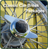 Classic Car Break Packages