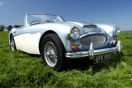 Austin Healey 3000 for hire - 50th Birthday Gift Idea