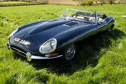 Jaguar E type Convertible